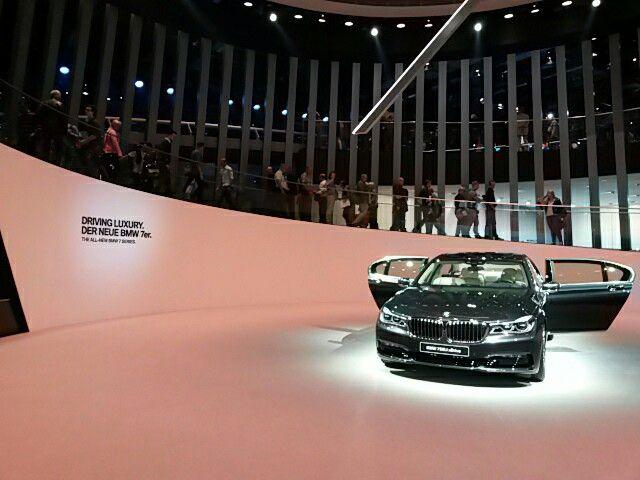 7er BMW  IAA Frankfurt am Main, 2015