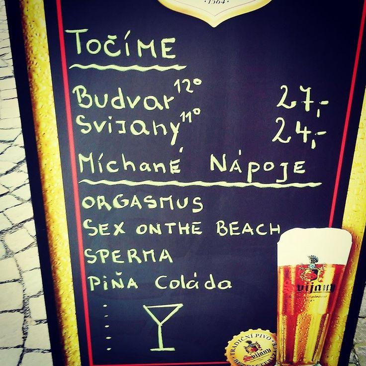 Absolutně vyčerpávající nabídka v Třebíči na náměstí :-)