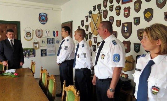 Négy Bács-Kiskun megyei rendőr kapott jutalmat