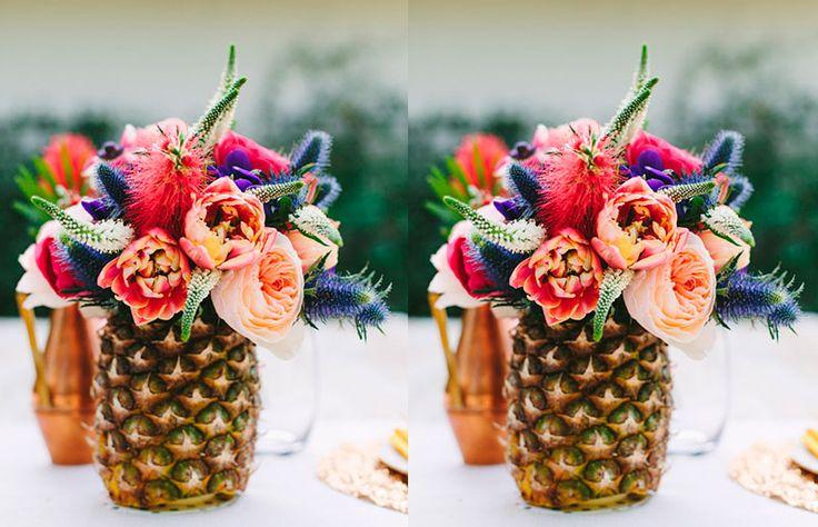 Tendência de decoração: objetificação do abacaxi - Casa e Cozinha