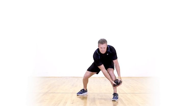 Who needs machines, barbells and dumbbells? You can do a full-body tabata workout using just a kettlebell.