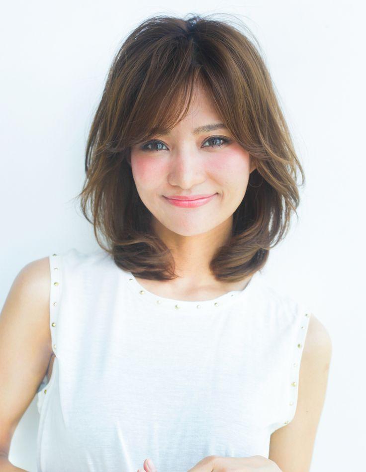 大人、ミセスのミディアムヘアパーマ(YR-363)   ヘアカタログ・髪型・ヘアスタイル AFLOAT(アフロート)表参道・銀座・名古屋の美容室・美容院