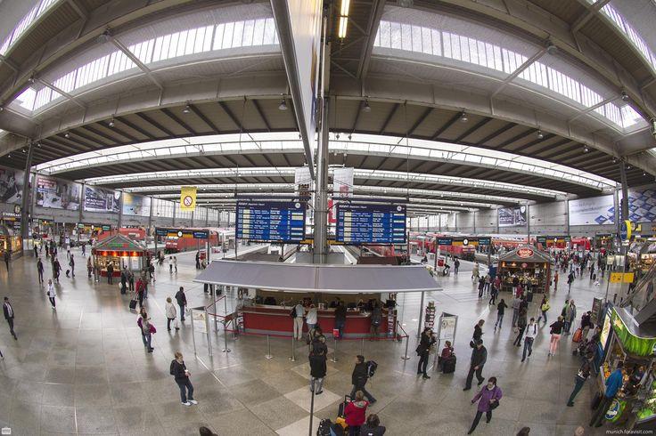 Hauptbahnhof München HBF - alle Infos auf einen Blick - Münchner Hauptbahnhof - der Zugang zu den Bahnsteigen