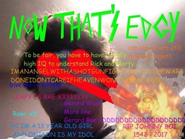 Pin By Joseph Joestar Lipski On Maymays Rawr Xd 13 Year Olds Gerard Way