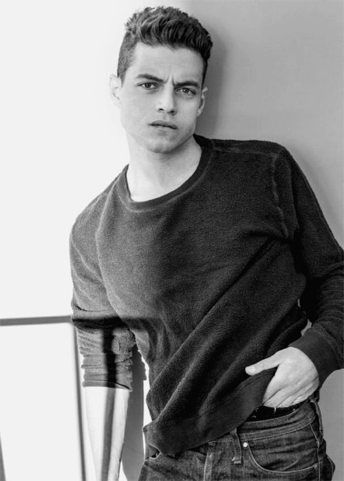 Rami Malek photographed by the Riker Brothers (2013)