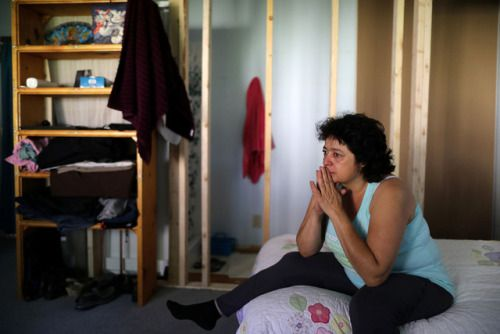 Colorado woman defies Immigration and Customs Enforcement from...  Colorado woman defies Immigration and Customs Enforcement from church sanctuary  Rosa Sabido stares out a church window pondering her future and worrying about her ailing mother.  For nearly two months since taking sanctuary at the United Methodist Church in Mancos a small town in the mountains of southwest Colorado Sabido 53 has lived in a cramped room with a makeshift shower. She sleeps beneath a mural of Noahs Ark in what…
