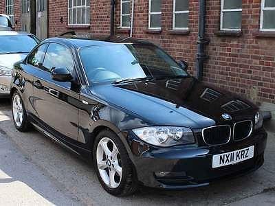 2011 BMW 118D E82 Facelift Sport Coupe Black Auto Diesel 46,000 miles FBMSH