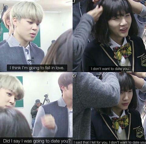 Yoonmin is playing hard to get