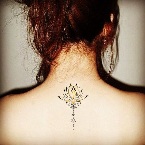 Mandala Temporary Tattoo Ethnic Art Mandala by prosciuttojojo