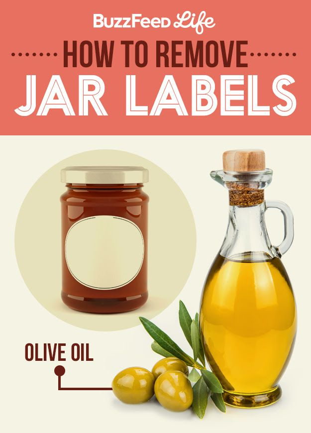 How to Remove Jar Labels - -->