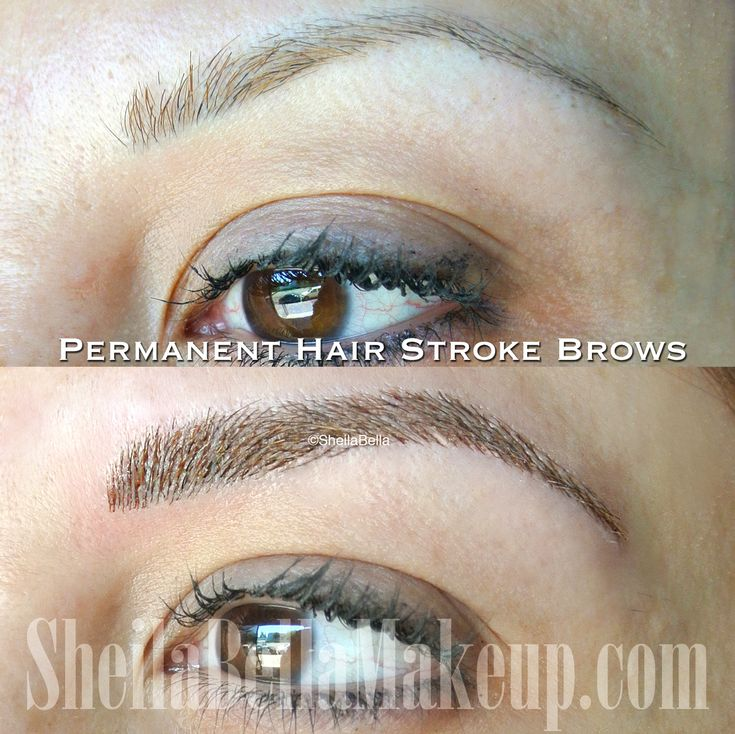 how to make eyebrows look real