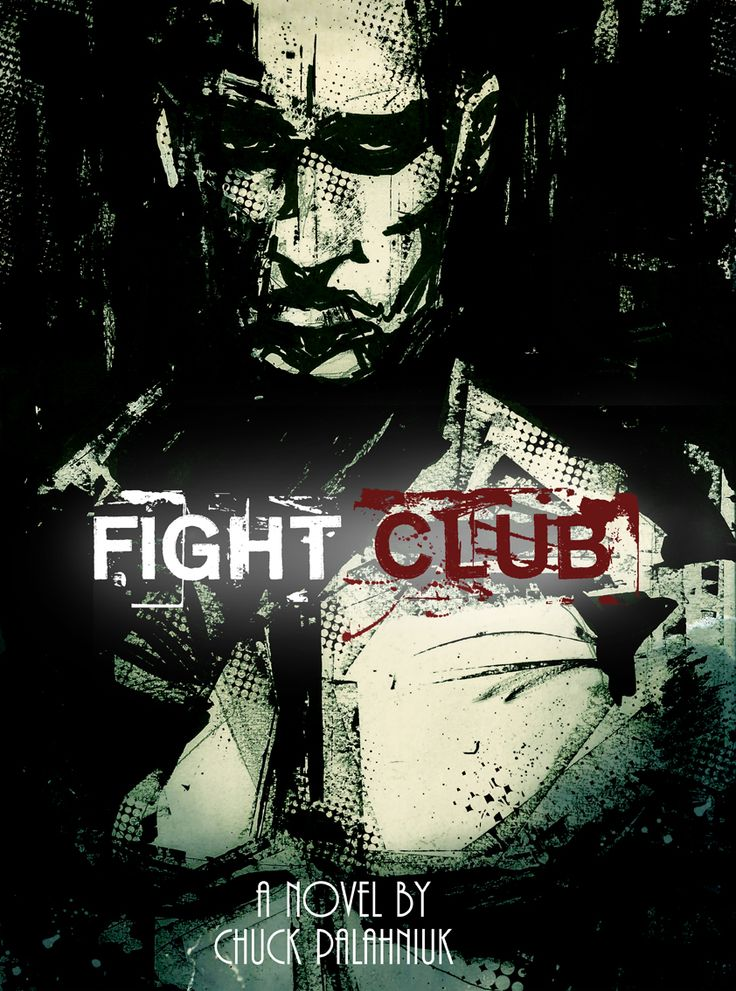 fight club book | Fight Club Book Cover def72 by mr-47ale on DeviantArt