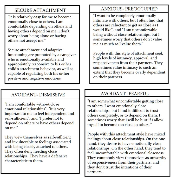 attachment theory therapy adults