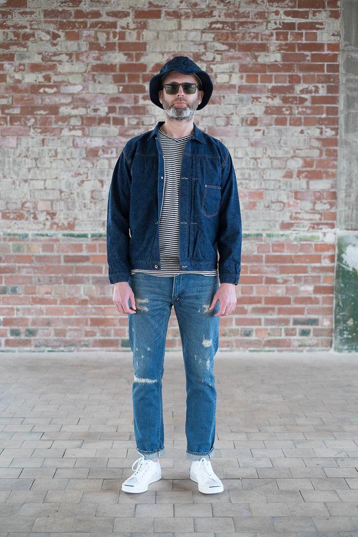Damage Wash 107 Slim Fit Jean by orSlow – The Bureau Belfast