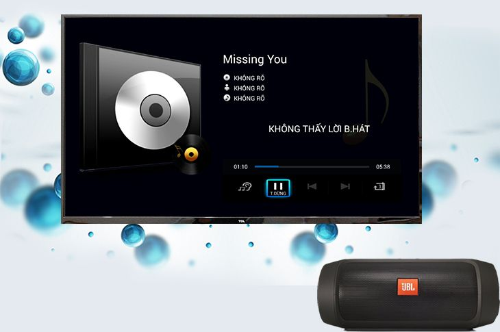 Kết nối tivi với loa, dàn máy Bluetooth