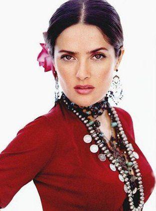 The Beautiful Salma Hayek