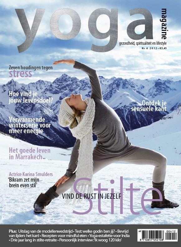 Yoga Magazine 2012 - 4 Stilte: vind de rust in jezelf.