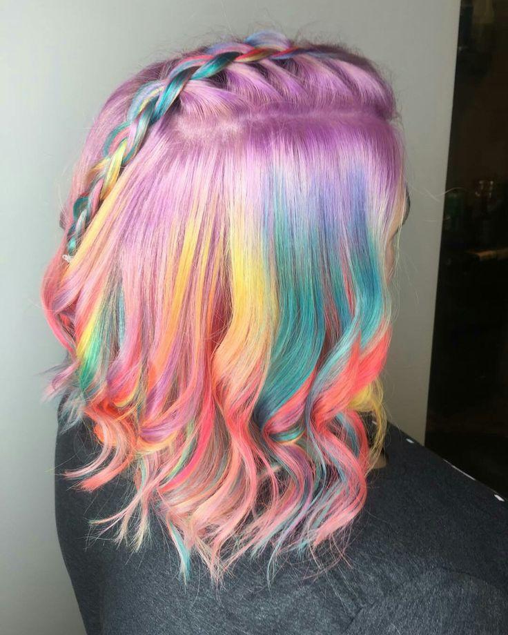 Weird Hair Colors