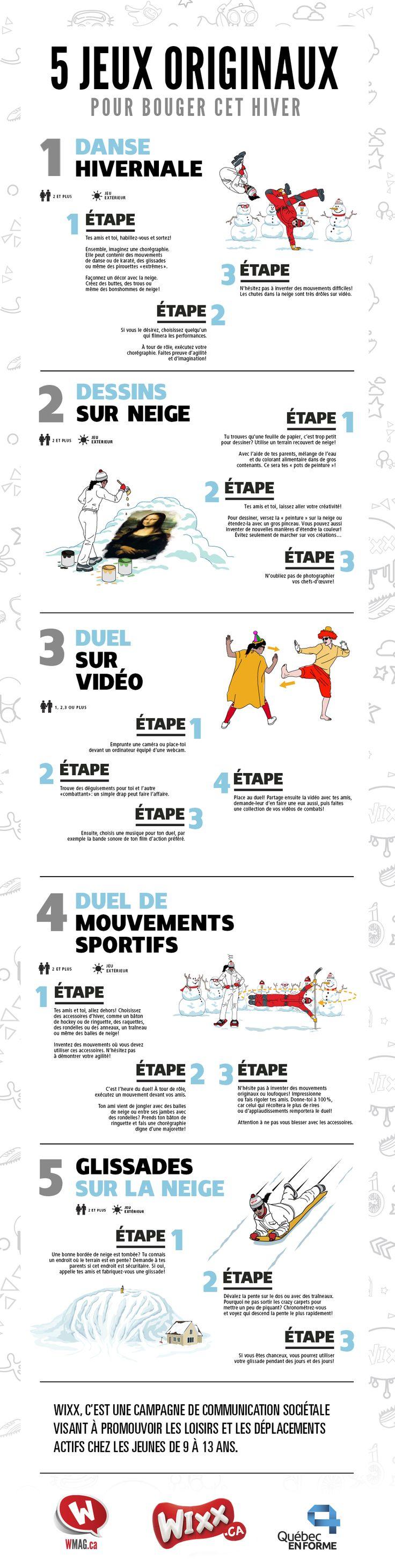 Vous avez épuisé votre banque d'idées? Voici cinq jeux originaux qui feront bouger les préados durant les vacances!