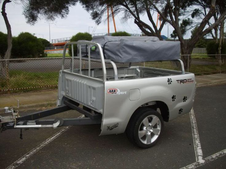 Tub trailer with roof top tent Truck tent, Roof top tent