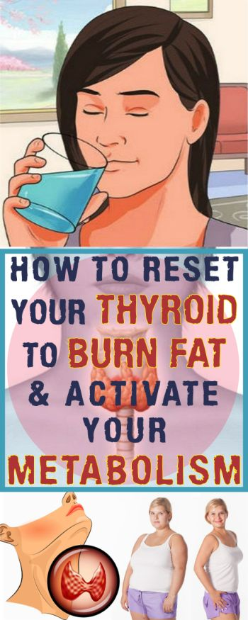 Activate Your Metabolism and Burn Fat by Resetting Your Thyroid!