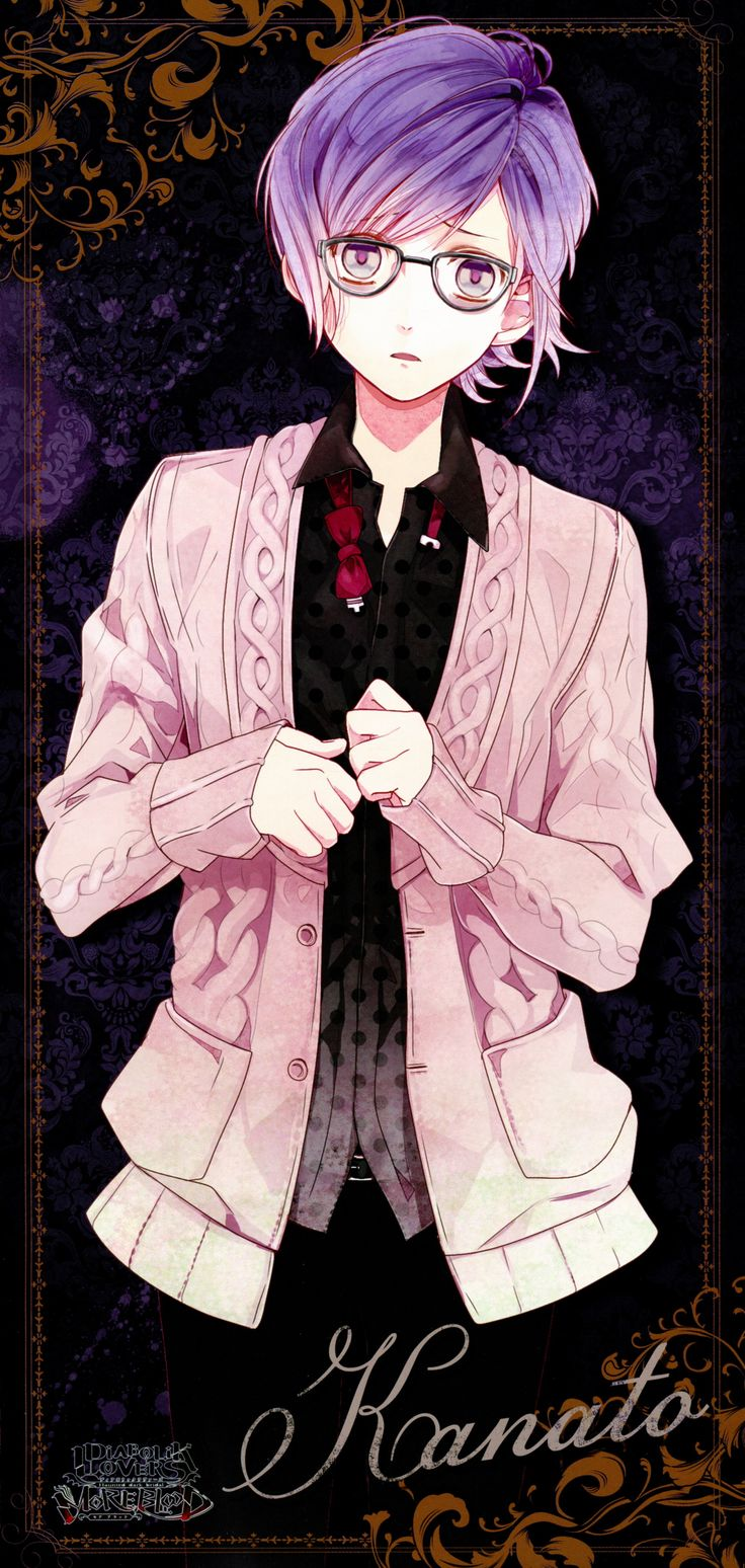 Tags: Scan, Stick Poster, Official Art, Satoi, Diabolik Lovers ~Haunted dark bridal~, Sakamaki Kanato