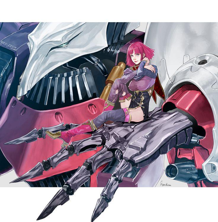 Qubeley Haman Karn / Mobile Suit Zeta Gundam