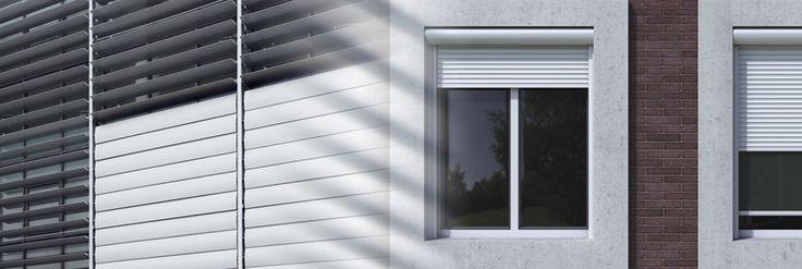 Sistemi di #ombreggiatura Alumil Μ5600, un sistema di protezione solare che garantisce un'entrata ottimale della luce naturale con massimo comfort e con una riduzione dei carichi termici. Le #lamelle, disponibili da 100 fino a 800 mm, offrono notevoli vantaggi assicurando un'efficace protezione solare contro il #riscaldamento degli edifici. Inoltre il sistema è collegabile alle costruzioni di tutte le #facciate continue Alumil.
