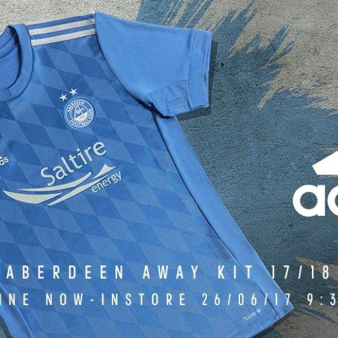 Aberdeen Football Club have released their home and away kits for their 2017/18 Scottish Premier League, domestic cup and UEFA Europa League seasons. The home shirt is now on sale at UK Soccer Shop…