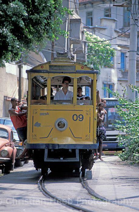 Street Car, Santa Theresa, Rio de Janeiro,Brazil