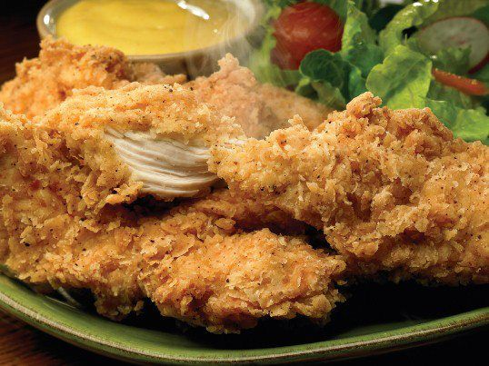 Golden Corral Restaurant : Chicken Fried Chicken Tenders