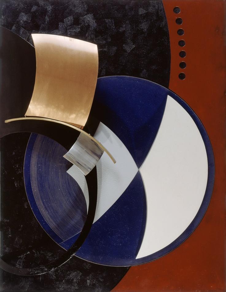 Domela-‐Nieuwenhuis [César Domela] (1900-1992) Relief n° 14, 1937 Painted wood, brass, red copper, Plexiglas, and steel; 78,5 X 61 X 12 cm; Musée d'Art Moderne de la Ville de Paris © Musée d'Art Moderne / Roger-‐Viollet © VEGAP, Bilbao, 2013