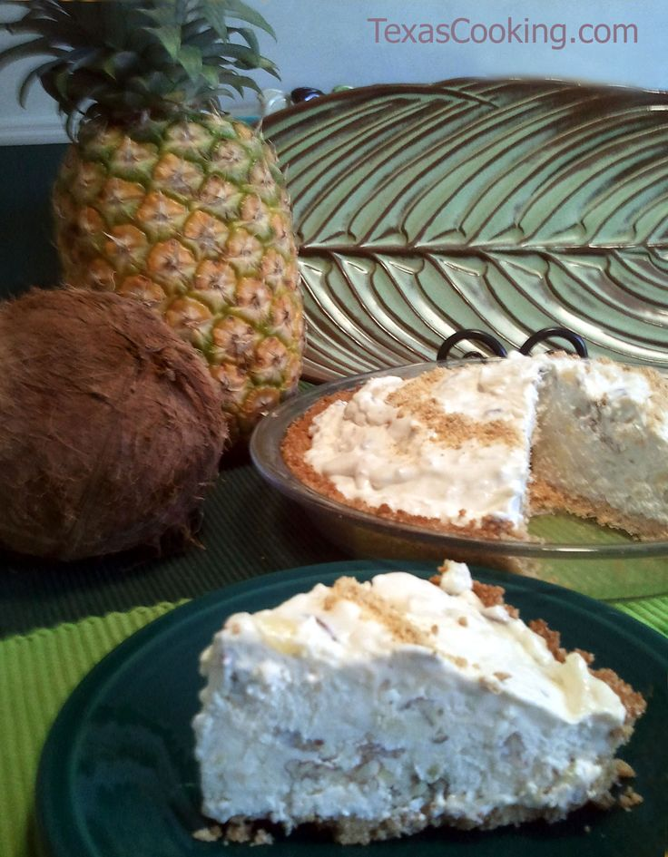 Paradise Pie from our article about frozen pies from the freezer.