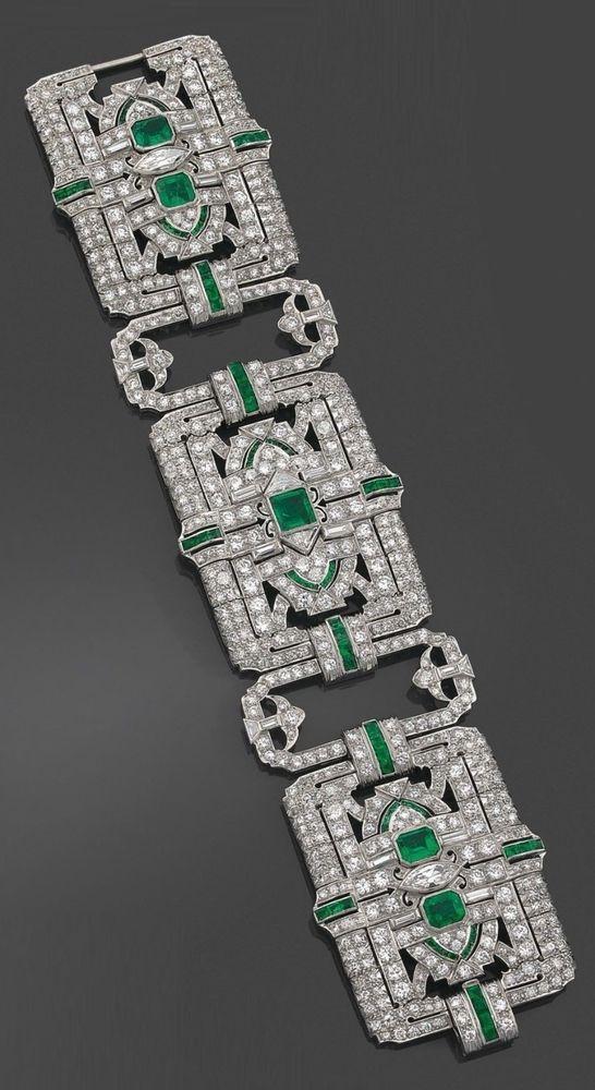 Statement broad bracelet solid 925 sterling silver green baguette accent round – BlackHawk Beauty