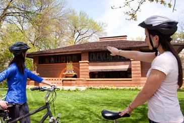 See Frank Lloyd Wright's Architecture in Oak Park By Bike: Oak Parks Riv, Bikes, Parks Bike, Forests Parks, Bike Tours, Parks Riv Forests, Wright Bike, Chicago, The Parks