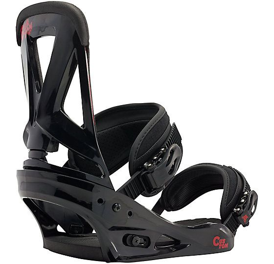 Custom Snowboard Binding US$169.95 (L)  Feel Rating 4 out of 10 Softer to Responsive  Re:Flex or EST  BASEPLATE: Single-Component Baseplate Construction, Lightweight, Bomb-Proof Polycarbonate, Re:Flex™, Compatible with all Major Mounting Systems  HI-BACK: NEW Single-Component Hi-Back Construction, Living Hinge™ Hi-Back, Zero Forward Lean HI-Back, Canted Hi-Back Design, DialFLAD™  STRAPS: Lushstrap™, Primo Capstrap™  CUSHIONING: Re:Flex FullBED Cushioning System