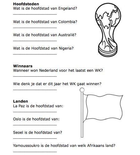 WK Voetbal Quiz