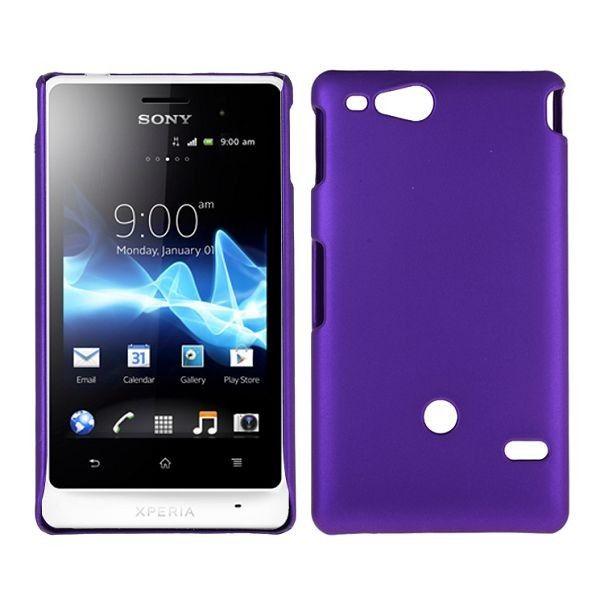 Hard Shell (Lilla) Sony Xperia Go Deksel