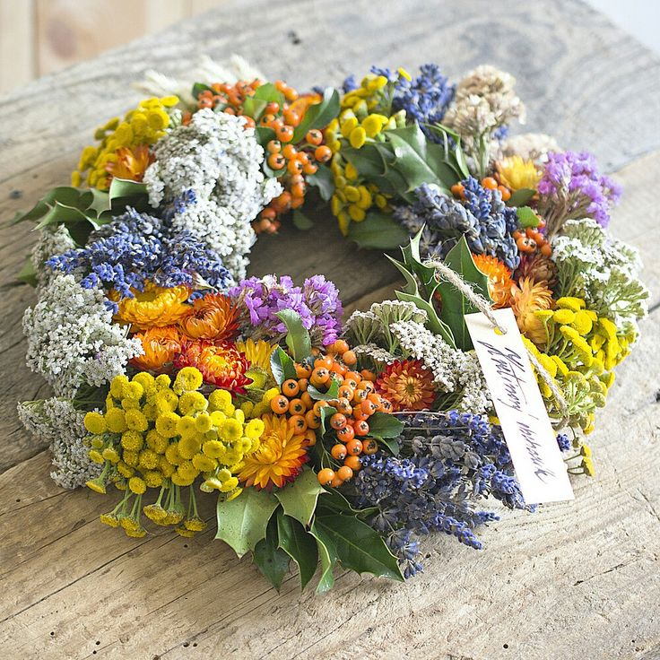 Natur colorful wreath