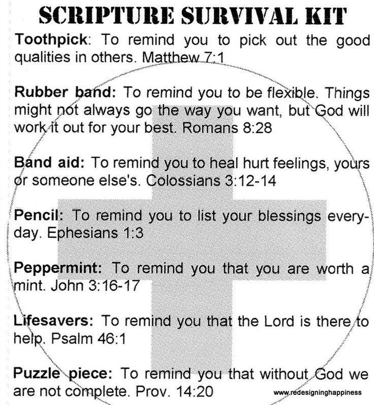 Scripture Survival Kit