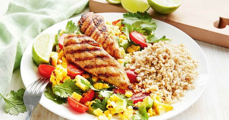 Light up the barbie with this spicy Cajun chicken served with homemade corn and avocado salsa.