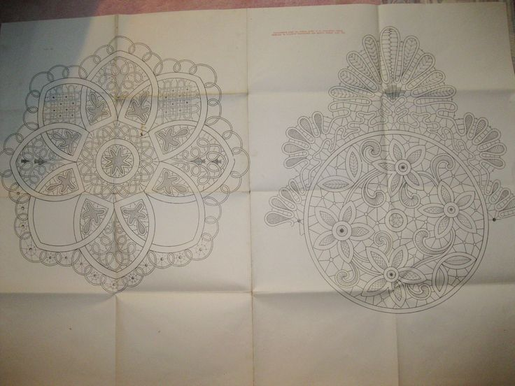 Romanian Point Lace Crochet pattern