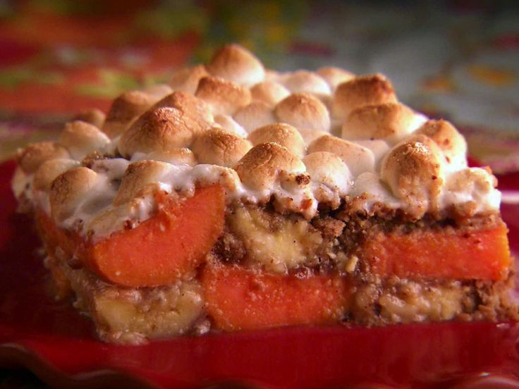 Banana-Yam Casserole recipe from Marcela Valladolid via Food Network