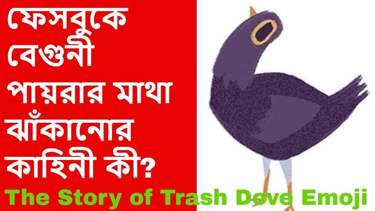 ফেসবুকে বেগুনী পায়রার মাথা ঝাঁকানোর কাহিনী কী? - The Story of Trash Dove Emoji