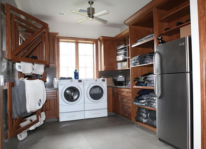 Washer Room For The Horses Blankets And Riders Clothes