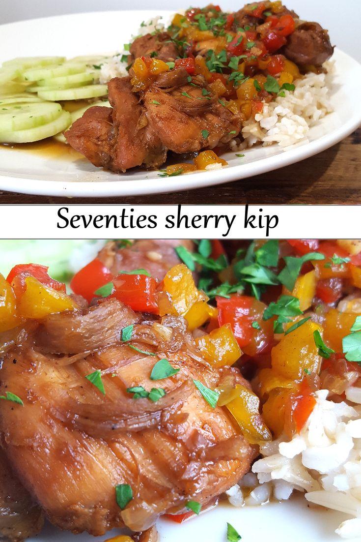 Recipe in Dutch: Old school Sherry kip uit de Seventies