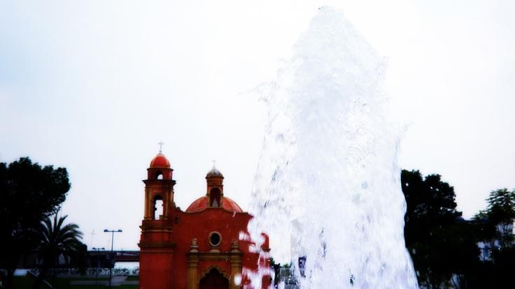 fountain Capilla de la concepción Tlaxcoaque D.F. México