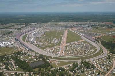 Talladega - We camped here in the infield 4 times
