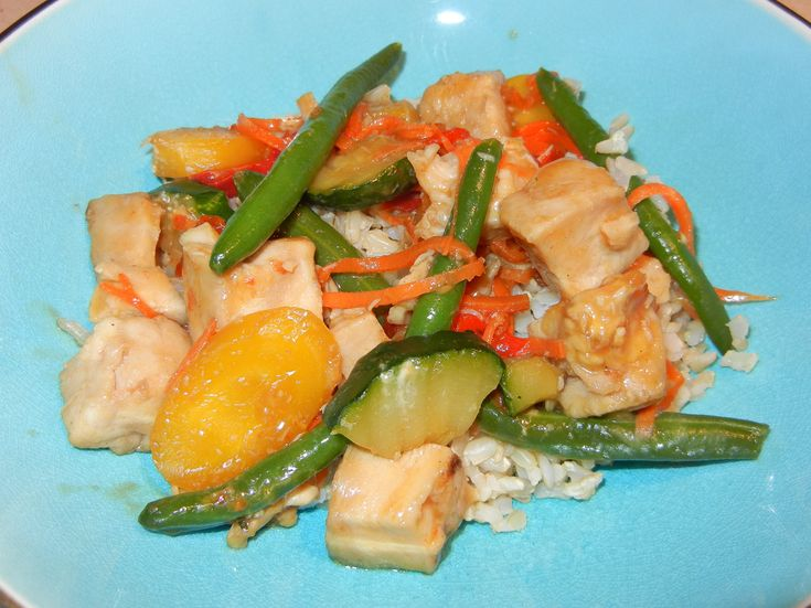Honey Chicken Stir Fry | Made it and liked it! | Pinterest