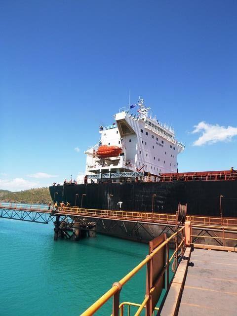Bulk Carrier at Koolan Island Photography Casey Scott